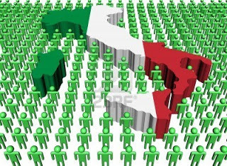Италия: население, уровень урбанизации, общая оценка политического положения страны и плотность ее населения