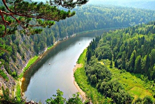Россия: реки, самая длинная в Европе и полноводная река страны и их значение