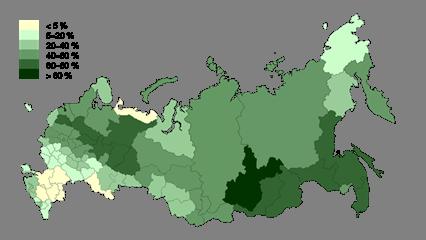 Ресурсы лесного хозяйства: производство и использование древесины, лесоизбыточные регионы России