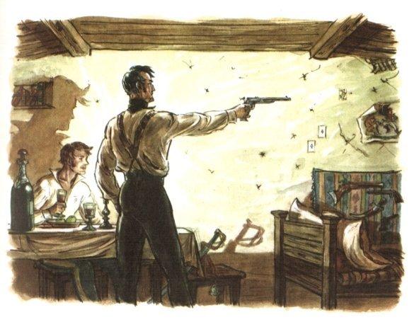 Малая проза Пушкина: «Выстрел», краткое содержание из читательского дневника