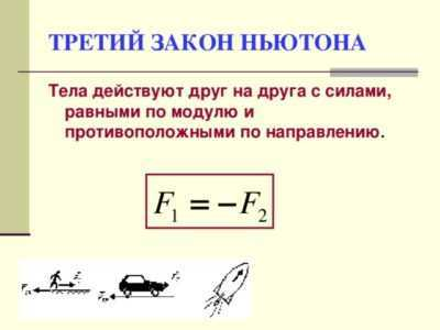 Кратко и понятно о первом, втором и третьем законах Ньютона: формулировки, примеры и формулы