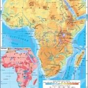 Какие страны в Африке: географическое положение большого острова на карте мира