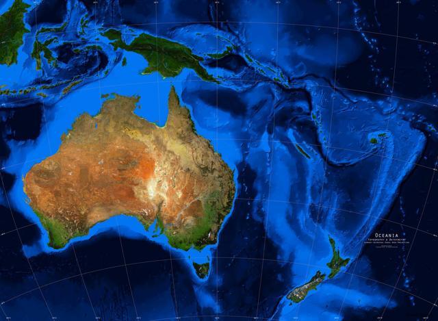 Страны Австралии и Океании: достопримечательности, географическое положение и этнический состав