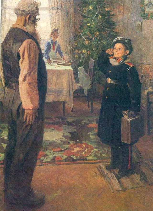 Картина Решетникова Опять двойка: биография художника, история написания, сюжет полотна