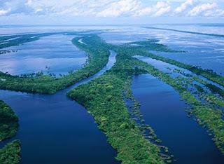 Длина Амазонки: где находится великая река на карте мира - географическое положение