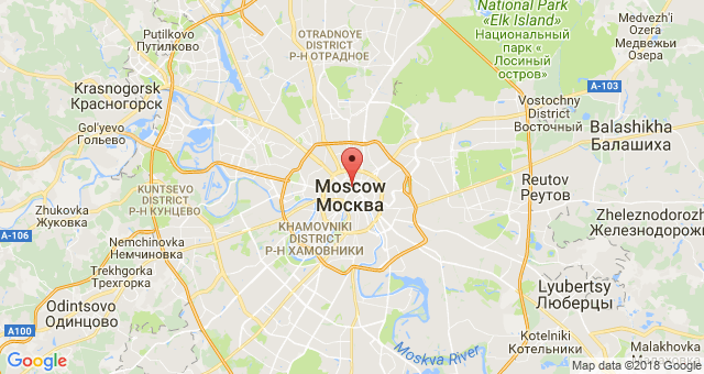 Доклад о Москве: географические координаты, основатель, достопримечательности