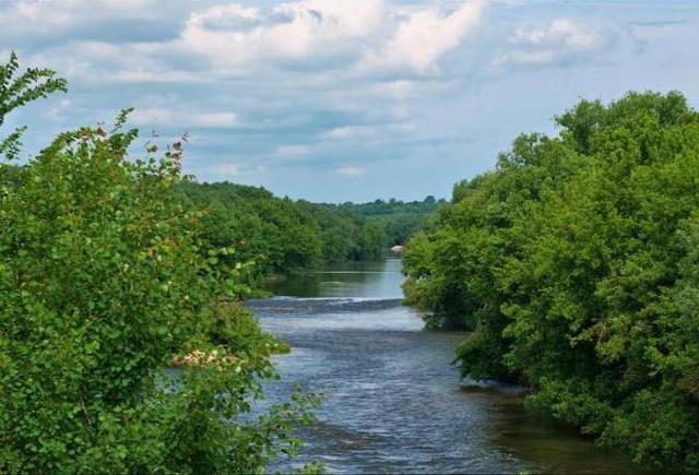 Куда впадает Дон: где находится река, уровень ее вод, падение и уклон водного потока