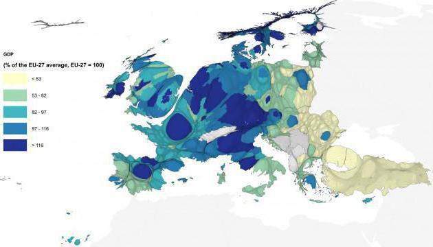 Население стран Европы: численность, плотность и национальный состав